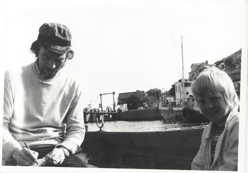 Gunnar W och jag