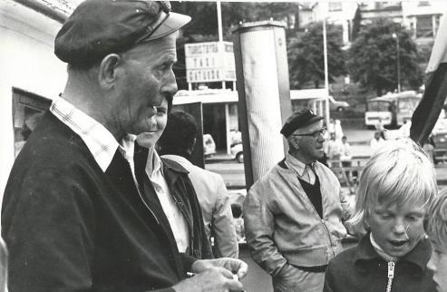 Lasse Dahlquist och jag.