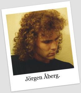 Jörgen på ett hotellrum i Kathmandu 1990.