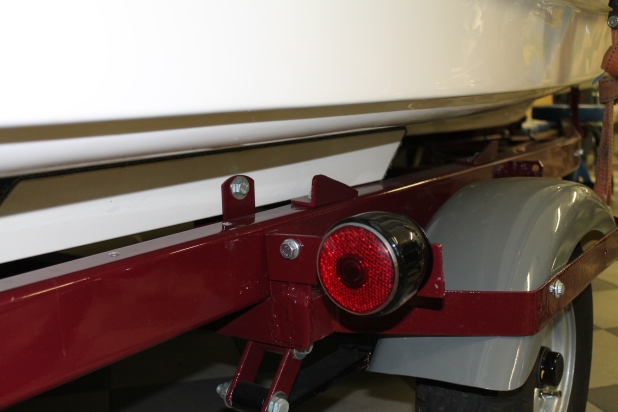 Originalsläppet till båten har Johan också.