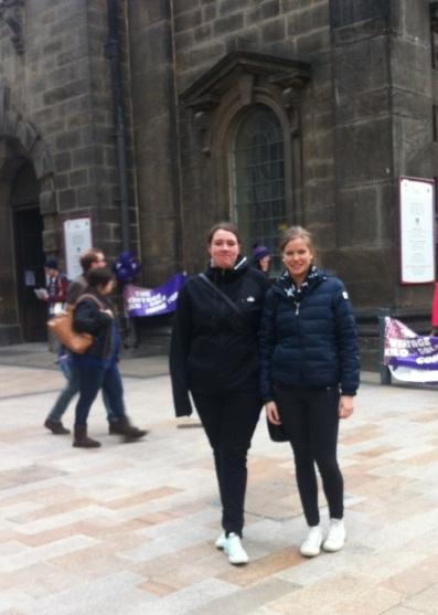 Amanda & Marielle i Leeds