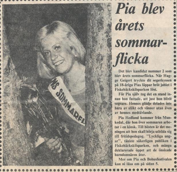 Årets sommarflicka 1974