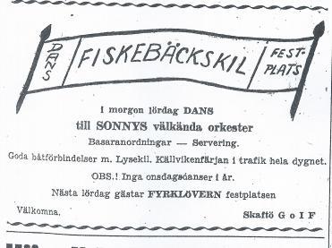 första annonsens