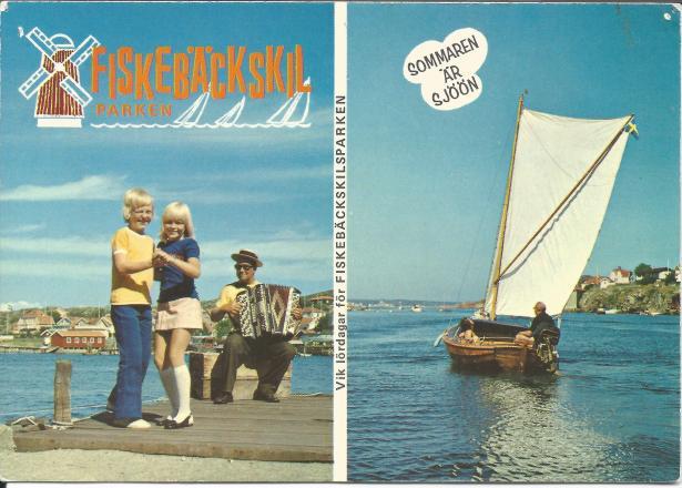 Fiskebäckskilsparken vykort