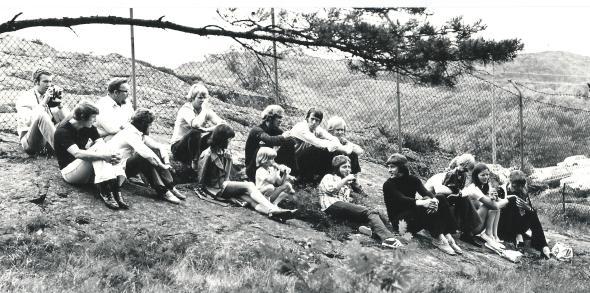Streaplers med familjer Foto Gösta Alexandersson