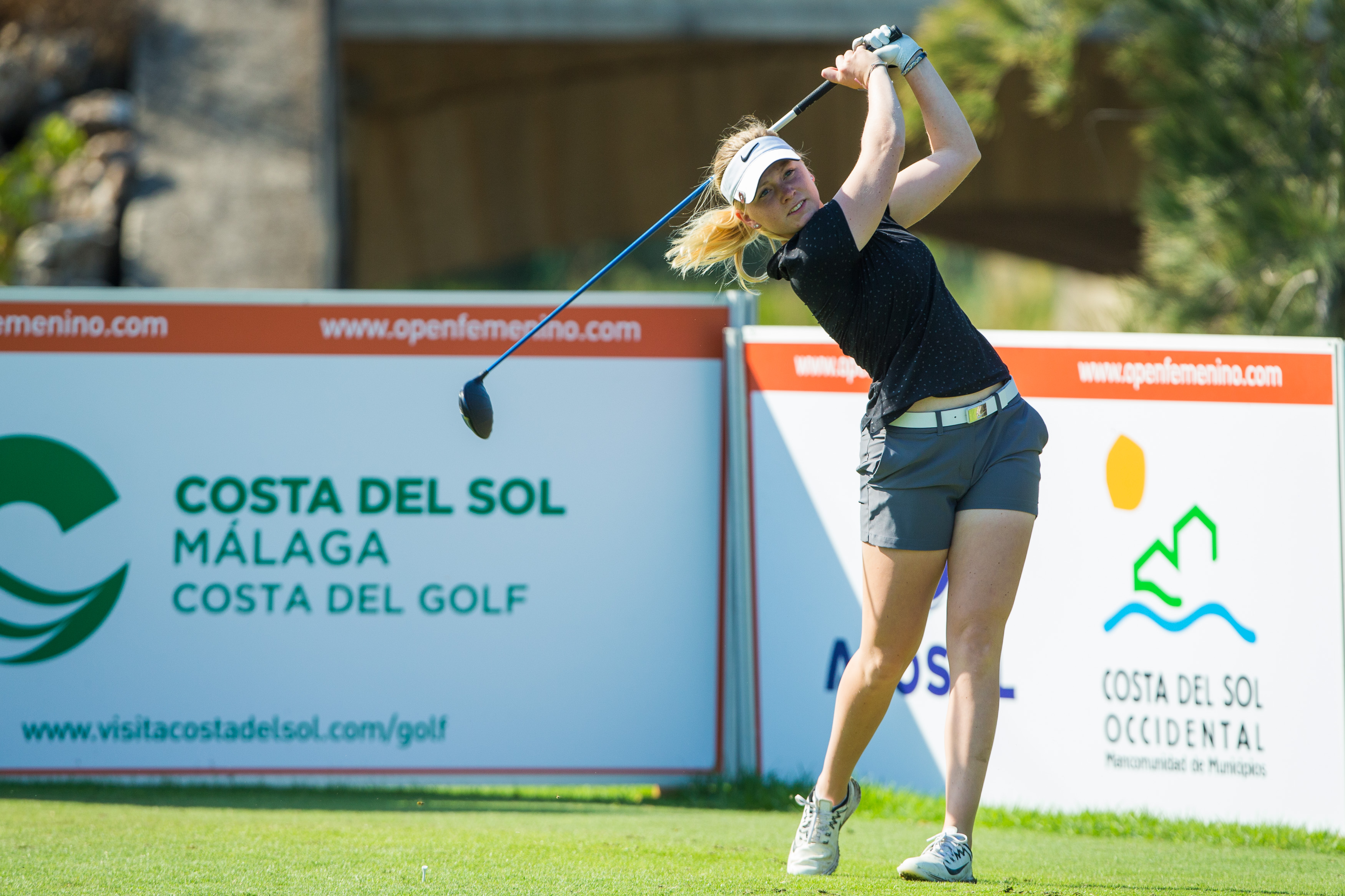 Frida Kinhult of Sweden during the first round