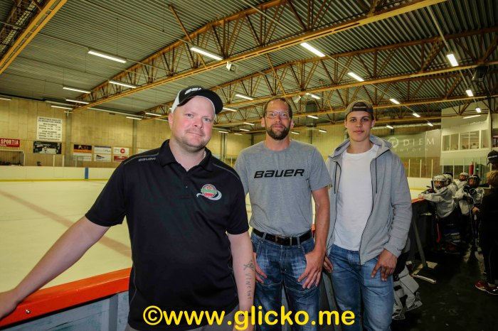 Anders Friberg, Johan hane och Joel Eriksson-Ek