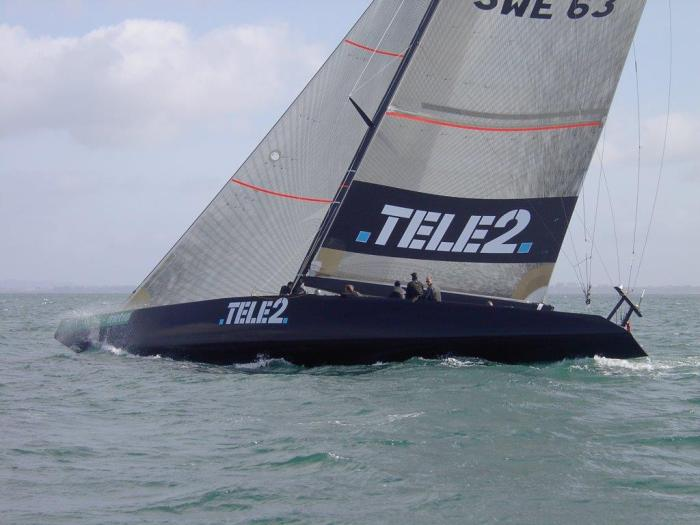 Segling IACC 63 örn 2002