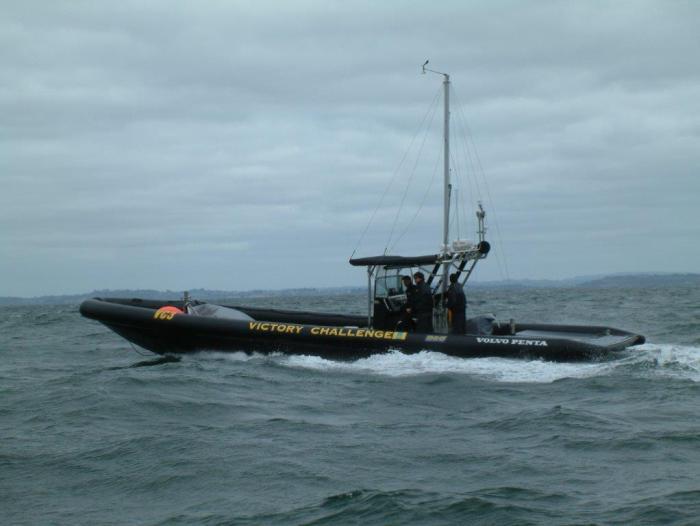 Victimizer Väderbåtar tenderbåtar till victory challenge 2003 Projektledare Pierre.jpg